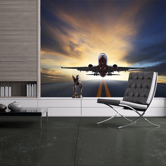 Flugzeug Fototapete Flugzeugtransport Tapete Reisejungen Wohnkultur