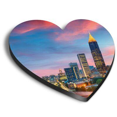 Midtown View Atlanta Georgia USA Cool Gift #21162 Awesome Fridge Magnet