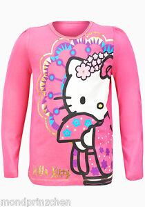 HELLO-KITTY-Glimmer-chemise-rose-gr-gr-104-164