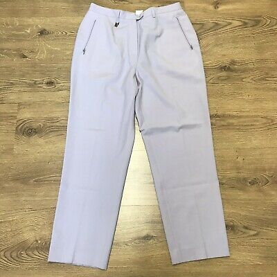 """wide varieties online sale price Vintage Lyle And Scott Womens Lilac Trousers Pants Golf Size 14UK W32/33""""  L27.5"""" 