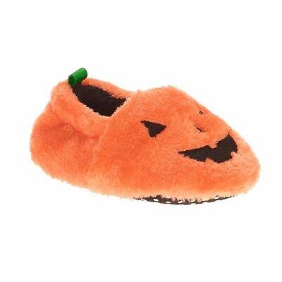 Baby Halloween Pumpkin Slippers Size 2