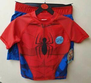 8ae9a01eca5 Boys Kids Swimwear UV Protection Spiderman Swimming Costume ...