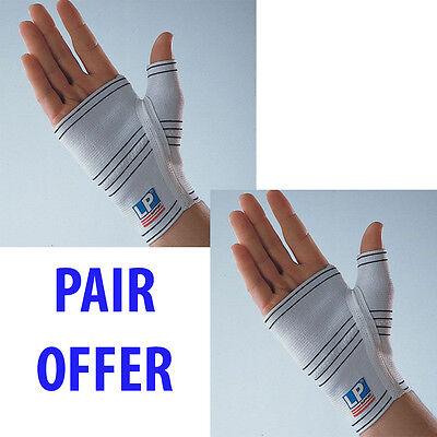 LP 605 Palm Hand Support Wrist Brace Wrap Sports Thumb Guard Glove - PAIR OFFER