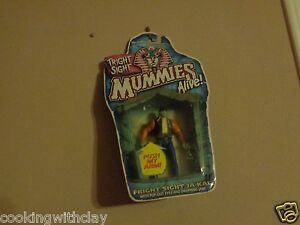 RARE FRIGHT SIGHT JA-KAL POP-OUT EYES DROPPING JAW  MUMMIES ALIVE ACTION FIGURE