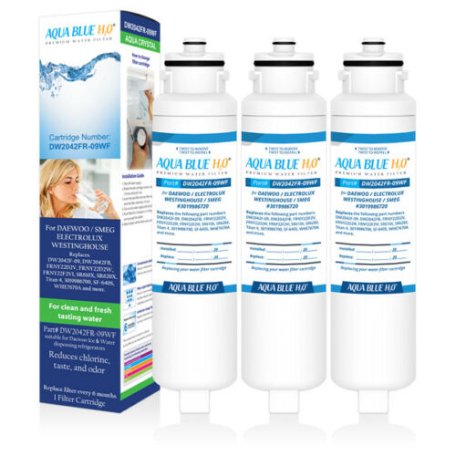 1 X Compatible Daewoo Fridge Water Filter//DW2042FR-09//3019986770//3019986720