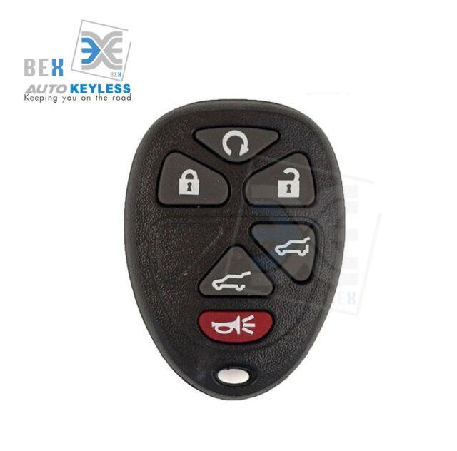 Keyless Entry Remote Control Car Key Fob For Cadillac 2007