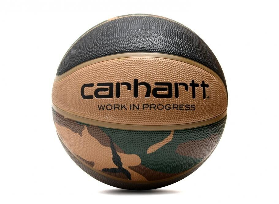SPALDING X CARHARTT WIP VALIANT 4 BASKETBALL I021385 pallone limited mimetico