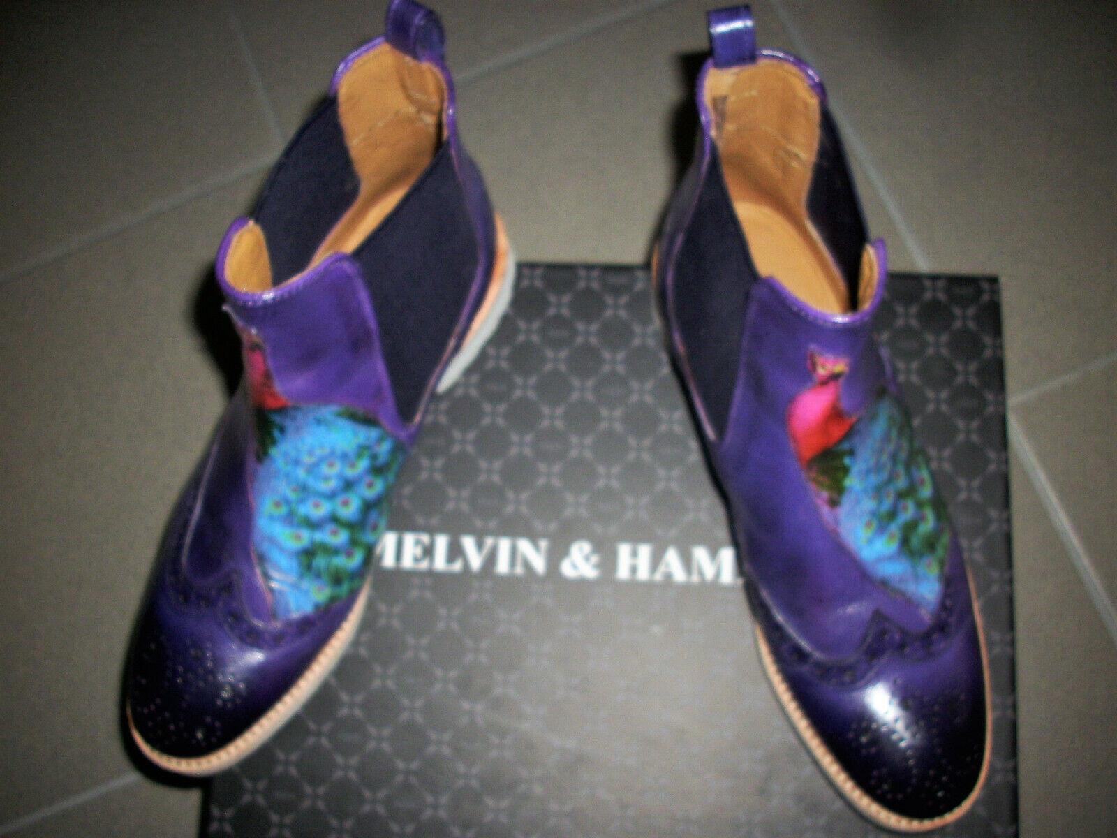Melvin & Hamilton Leder Stiefeletten Gr.37
