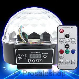 Disco-DJ-Lichteffekt-Discokugel-LED-Licht-RGB-Projektor-mit-Fernbedienung