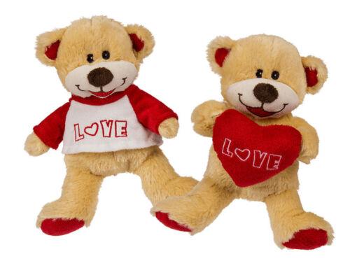 Plüsch Bär Love ca 15 cm Plüschtier Kuscheltier Kuschelbär Teddybär Spielzeug
