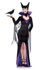 disney villains maleficent by leg avenue medium adult costume halloween