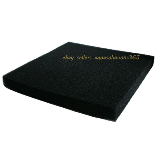 Bio Sponge Filter Media Pad Cut-to-fit Foam 17.7 Square for Aquarium Fish Tank