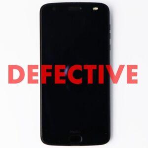 DEFECTIVE Motorola Moto Z2 Force 64GB Smartphone (XT1789-01) - Verizon - Black