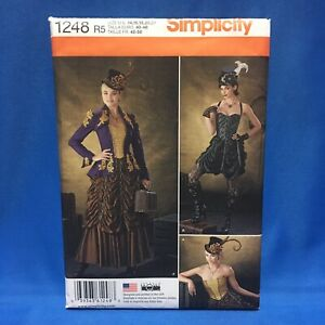 Simplicity-1248-Sewing-Pattern-Misses-Steampunk-Costume-14-22