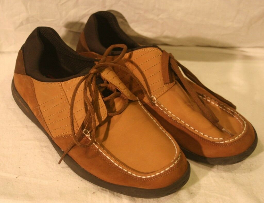Propet M9000 Men's Lakeport shoes Brown Size 15, nice