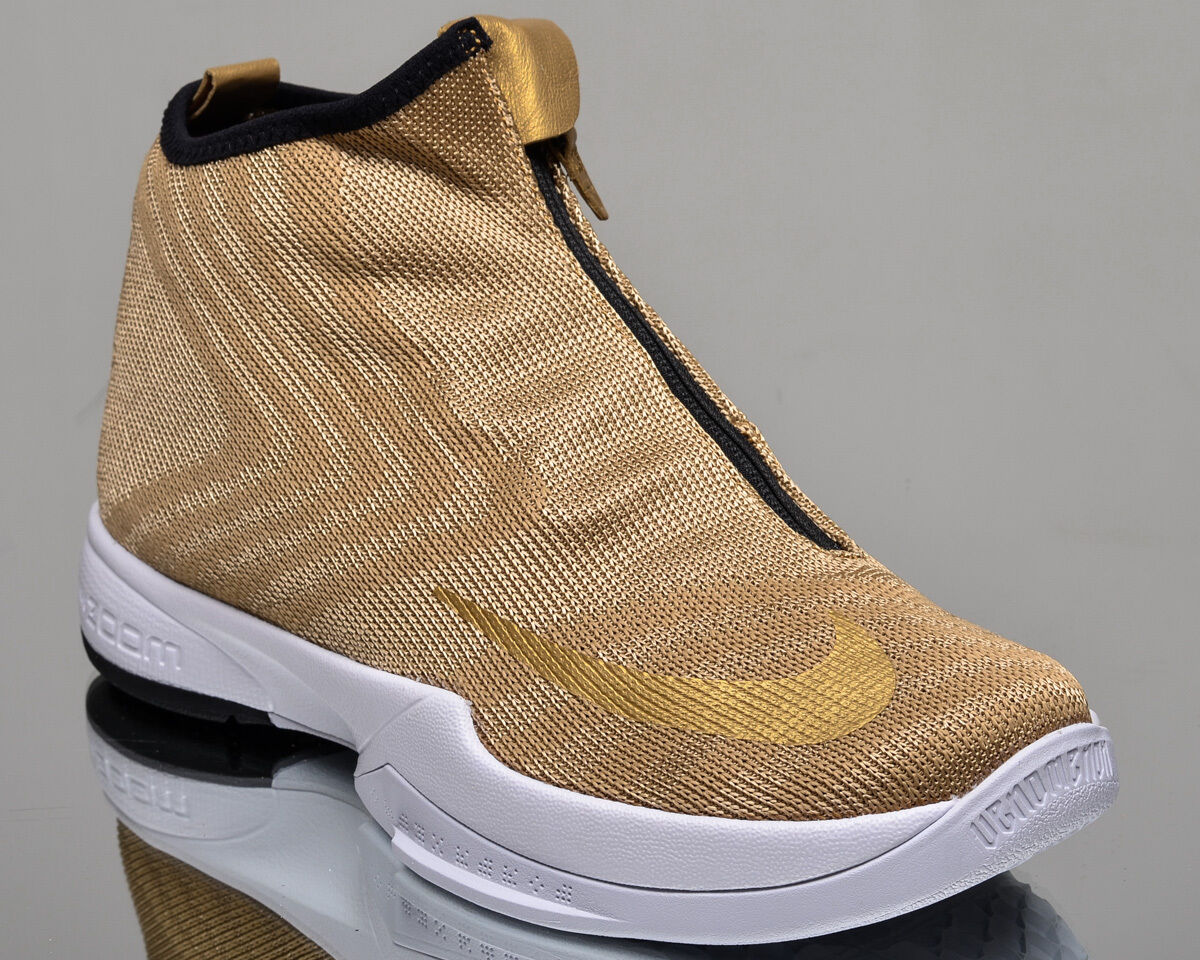 Nike Zoom Kobe Icon JCRD mens lifestyle casual sneakers NEW metallic gold