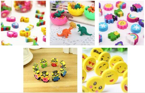 8 Designs *** NOUVEAU *** MINI GOMMES Kids Party Favors Sac Remplissage Cadeau