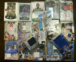 LOT-OF-NEW-OLD-BASKETBALL-CARDS-JERSEY-AUTOGRAPH-MEMORABILIA-CARDS-LIQUIDATION
