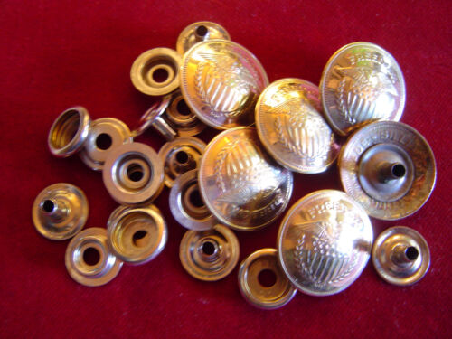 """1/"""" 6 Brass FREEDOM tokens SNAPS w// parts"""