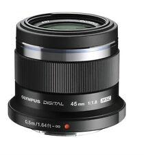 Olympus M.Zuiko 45mm f/1.8 ED Lens (Black) for Micro Four Thirds