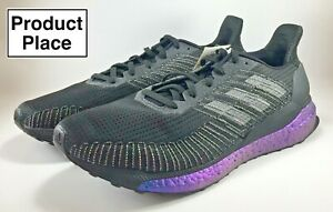 Adidas-SolarBoost-19-Running-Shoes-034-ISS-National-Lab-034-Black-Men-039-s-Size-11-5