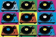 Poster Musica Console Steez Pop Art Originale Importazione UK
