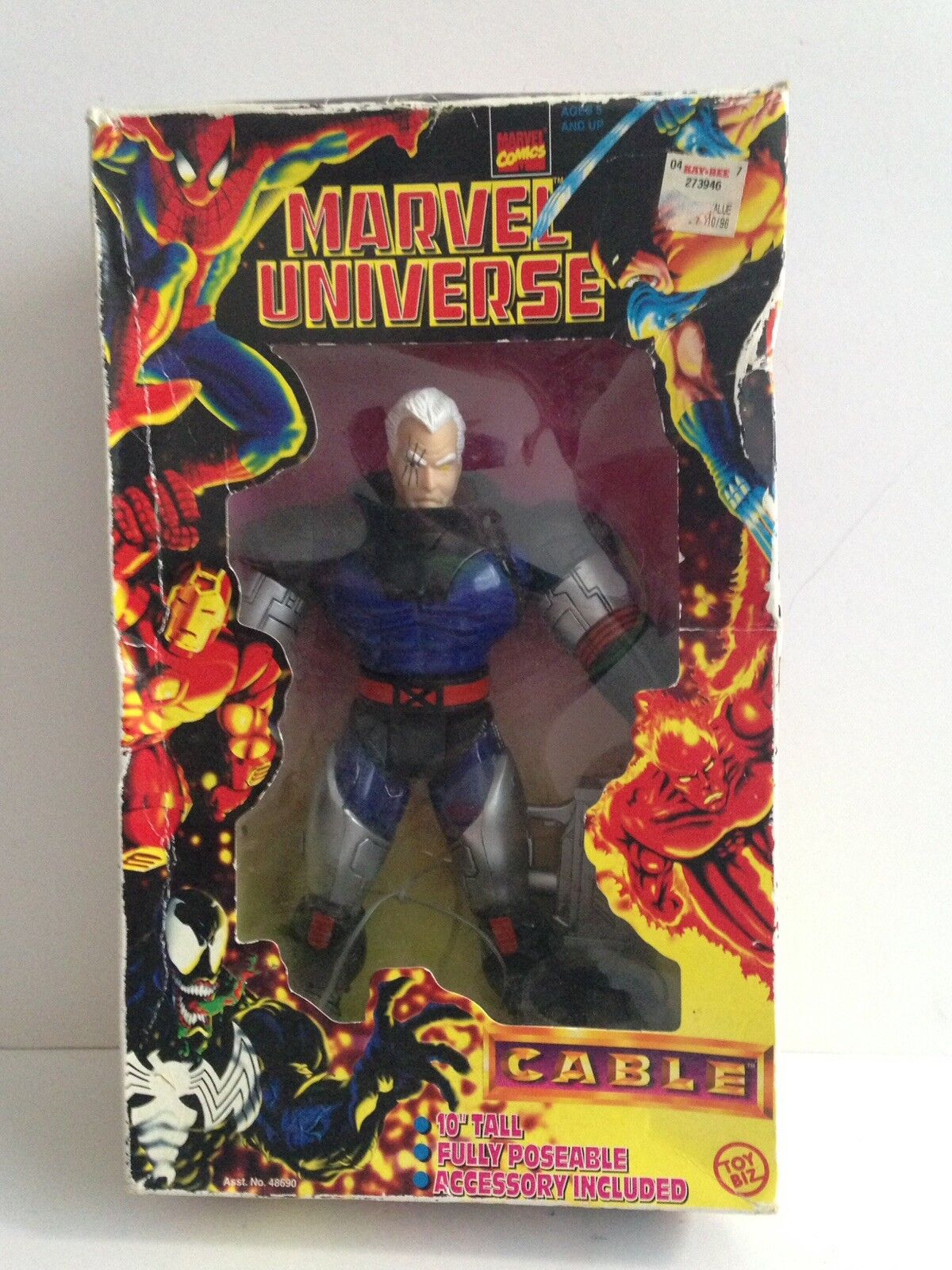 Toybiz - marvel - universum 10  - kabel (1997) x - men   x - force