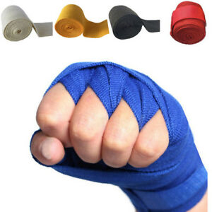 Boxing Gloves Cotton Bandage Fighting Sanda Strap Hand Wraps Handwraps S5