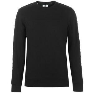 JACK-and-Jones-Core-Cole-Crew-Maglione-Nero-Da-Uomo-UK-Taglia-Small-S
