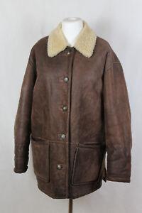 bon en état d'agneau 42 44 cuir 46 Cool Veste taille Affairs par Fashion UapWw6q