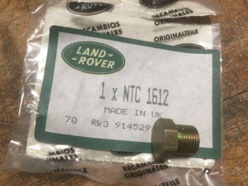 Land Rover Defender 90 110 Depósito De Combustible Tapón De Drenaje Genuino NTC1612 F21