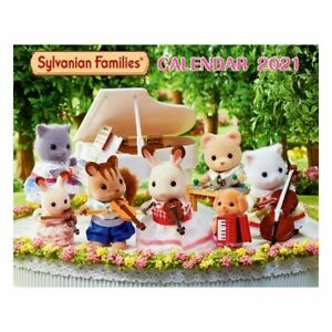 Sylvanian Families WALL CALENDAR 2021 Epoch Japan Calico Critters