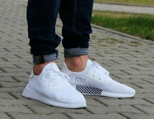 Adidas-Originals-deerupt-Noir-Blanc-Homme-Chaussure-De-Course-Baskets-UK-7-11-CQ2625
