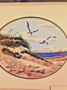 Dimensions-Cross-Stitch-No-Count-Summer-Dunes-Sea-Scape-Kit-New-In-Package