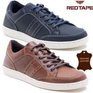 MENS-REDTAPE-LEATHER-LACE-UP-DRIVING-SMART-CASUAL-SHOES-FASHION-TRAINERS-SIZES