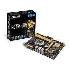 INTEL G3220 DUAL CORE CPU ASUS H81 CSM Micro ATX MOTHERBOARD COMBO KIT