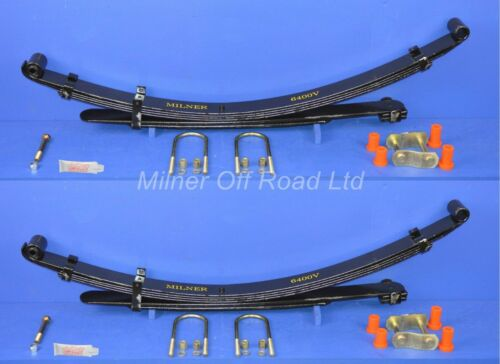 light duty for Mitsubishi L200 K74 4x4 2.5td Rear Leaf Spring with Kit Pair
