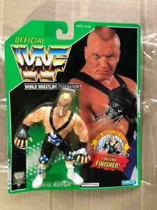 WWF-Hasbro-Ludvig-Borga-1994-Green-Card-Wrestling-Action-Figure-Very-Rare