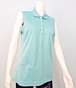 ab02924359f5b Nike Golf Dri-Fit Women s Green Sleeveless Polo Shirt Sz M
