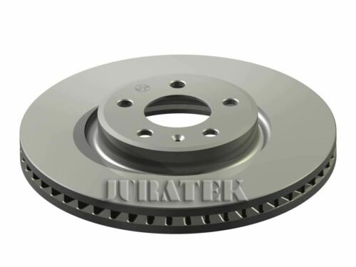 JURATEK FRONT BRAKE DISC FOR AUDI Q5 SQ5 TDI QUATTRO 2967CCM 313HP 230KW DIESEL