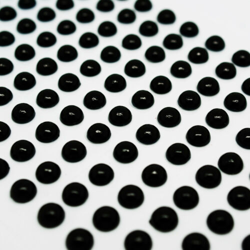Hoja de pegatinas de Perla Media Perla Bead piso nuevo Pegar en Gemas solo 3D Adhesivo