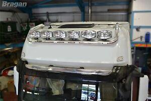 Pour-Mercedes-Actros-Mp4-Grand-Espace-Biellette-Toit-Barre-B-Rond-Spot-Lampes