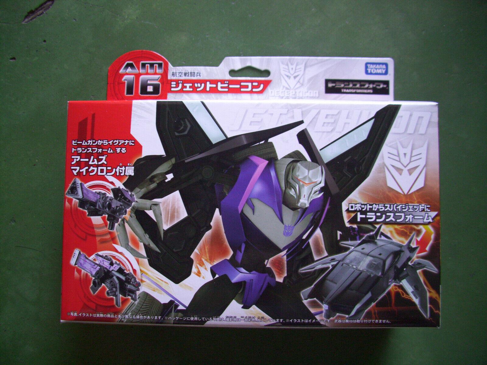 Transformers Prime Arms Micron AM16 Jet Vehicon MISB