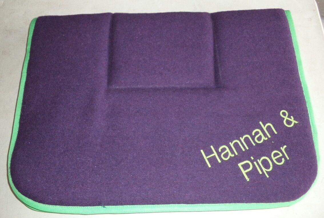 Horse Saddleblanket  Purple 70 x 100 cm AUSTRALIAN MADE Saddlecloth Xlarge  top brand