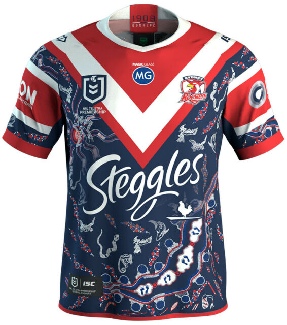 Sydney Roosters 2020 Indigenous Jersey Mens Small - 5XL, Womens & Kids NRL ISC