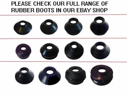 UNIVERSAL TRACK ROD END BALL JOINT RUBBER DUST BOOT COVERS GAITERS 8X