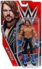 AJ Styles WWE Mattel Basic 68 B - Brand New Action Figure Toy - Mint Packaging