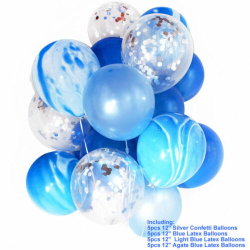 20pcs 12/'/' Latex Confetti Balloon Helium Balloons Birthday Wedding Baby Shower