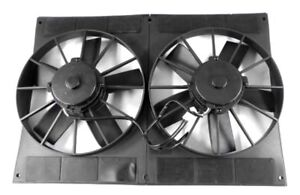11-034-Electric-Cooling-Dual-Fans-and-Shroud-Straight-Blade-Pro-Series-2800-CFM