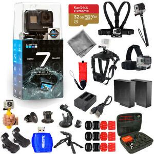 GoPro-HERO7-Action-Camera-Black-with-Extra-Batteries-32GB-Accessory-Bundle